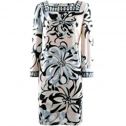 Amazon Black Rose Print Dress Adria