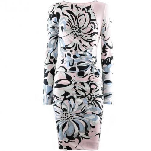 Amazon Black Rose Print Dress Fantasia