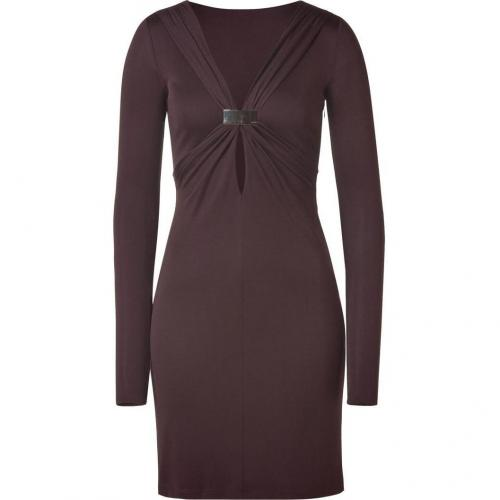 Emilio Pucci Chocolate Draped Dress