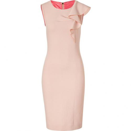 Emilio Pucci Colonial Rose Wool Sheat Dress