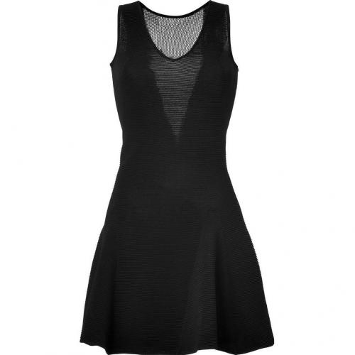 Faith Connexion Black Mesh Detailed Ballerina Ottomann Dress