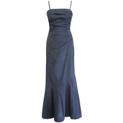 Fashionart Exklusives Abenkleid Ballkleid blau/grau