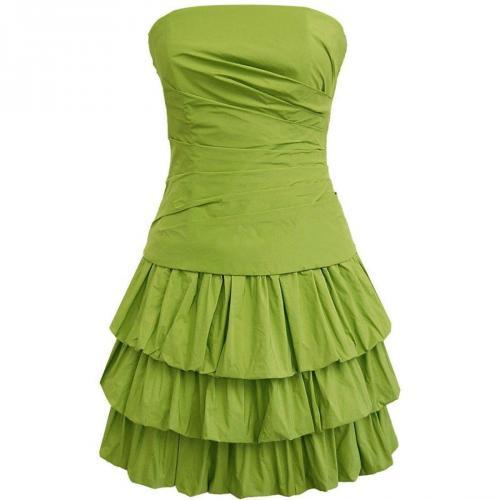 Fashionart kurzes Ballkleid grasgrün
