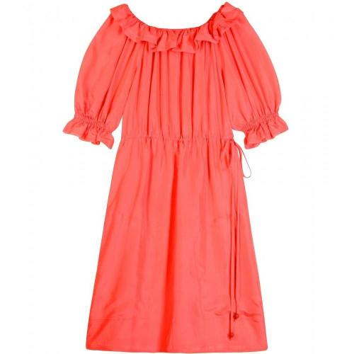 Fendi Puffed Sleeve Dress