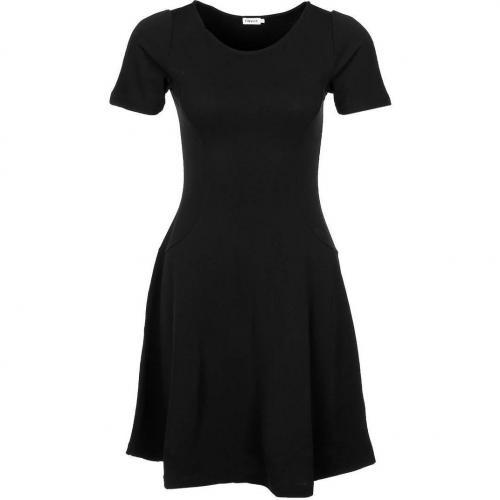 Filippa K Jerseykleid schwarz