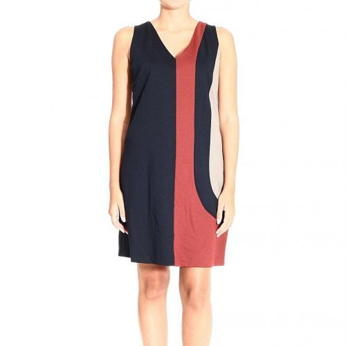 Hanita Dress Red Block