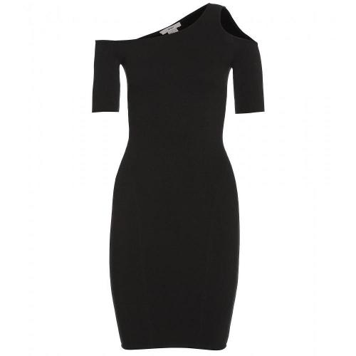 Helmut Asymmetrisches Stretch-Kleid Gala