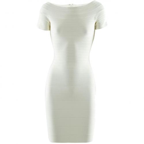 Herve Leger Cream Dress Carmen