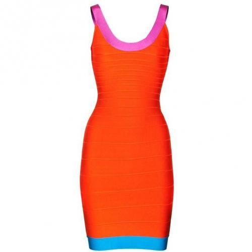Herve Leger Tasha Orange