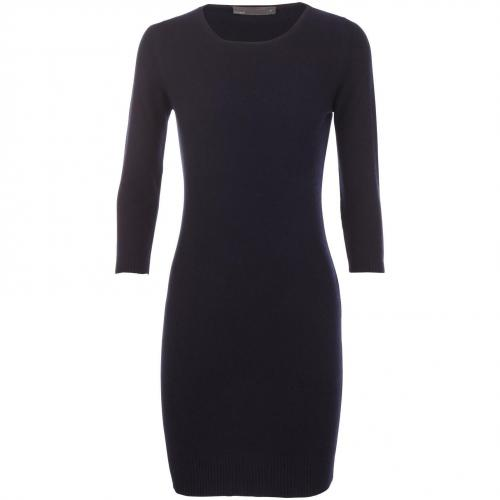 Incentive! by Sasa Cashmere Kaschmir Kleid Navy