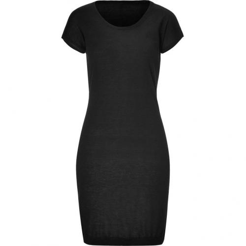 Iris von Arnim Black Cashmere Cosima Dress