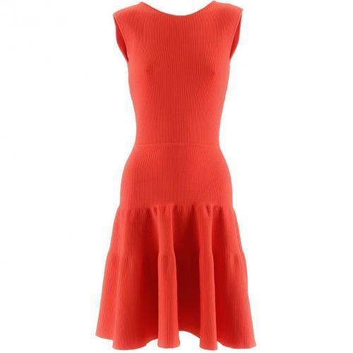 Issa Orange Red Dress Fire