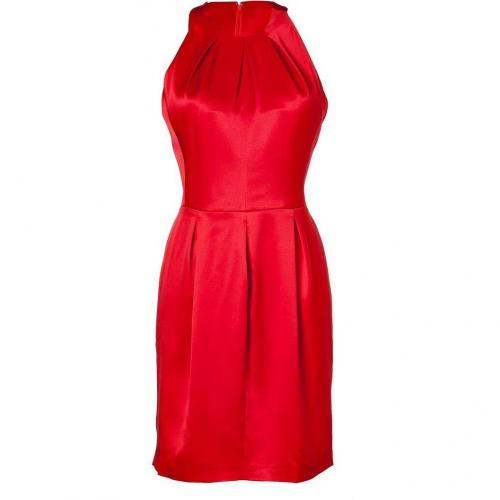 Issa Scarlet Double Silk Satin Dress