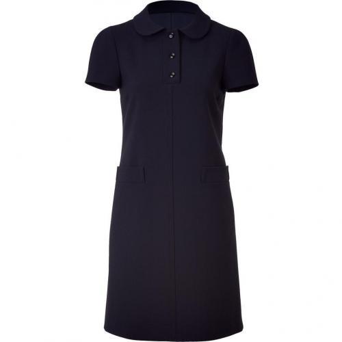 Jil Sander Navy Navy Baby Snap Collar Dress