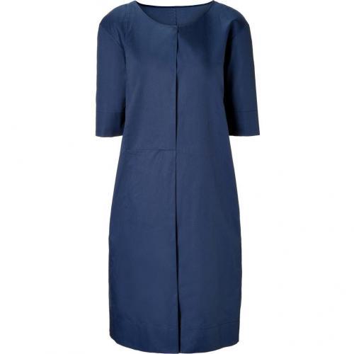 Jil Sander Ultramarine Cotton National Dress