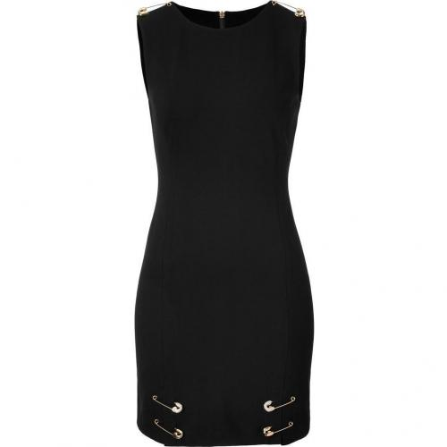 Juicy Couture Pitch Black Studded Pin Dress