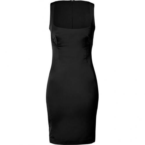 Just Cavalli Black Balconette Dress