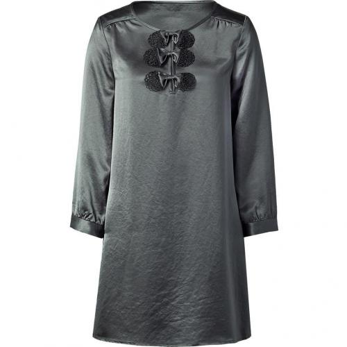Marc by Marc Jacobs Dim Grey Satin Dress