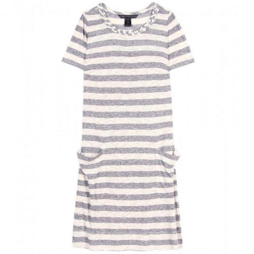 Marc by Marc Jacobs Pebble Gestreiftes Shirtkleid