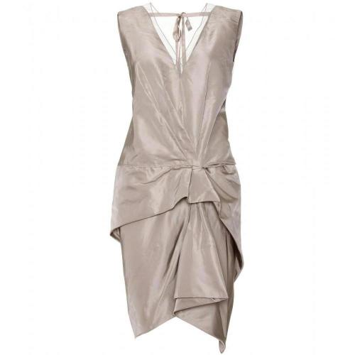 Marc Jacobs Seidenkleid Mit Drapierung