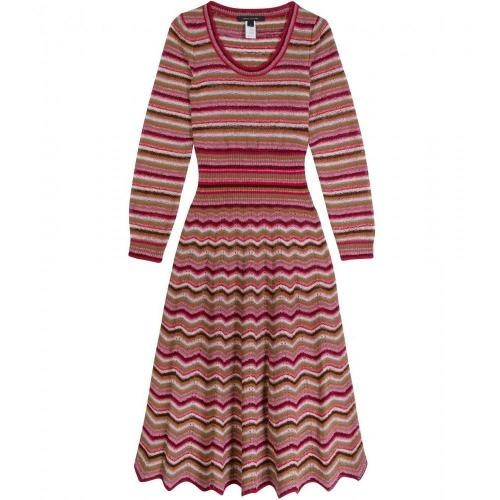 Marc Jacobs Striped Knit Dress