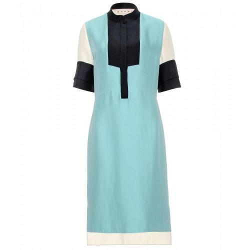 Marni Color-Block-Hemdkleid