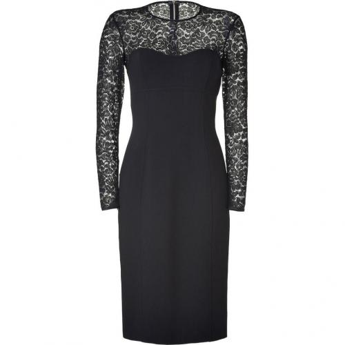 Michael Kors Black Lace Combo Dress