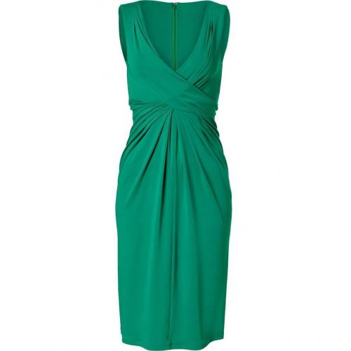 Michael Kors Emerald Twisted Front Dress