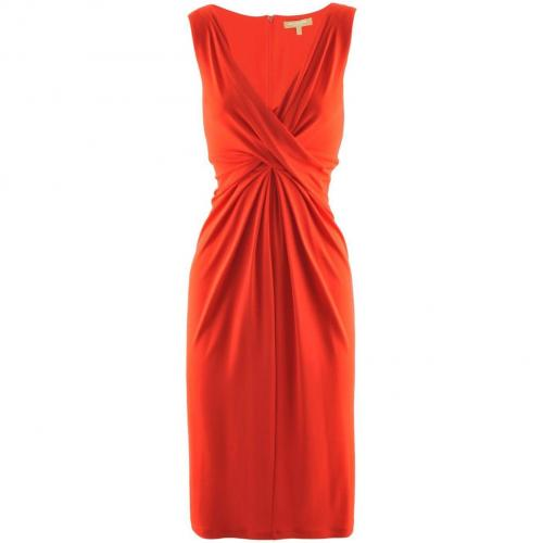Michael Kors Red Dress Knot