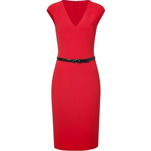 Michael Kors Scarlet Red Cap Sleeve Sheath Dress