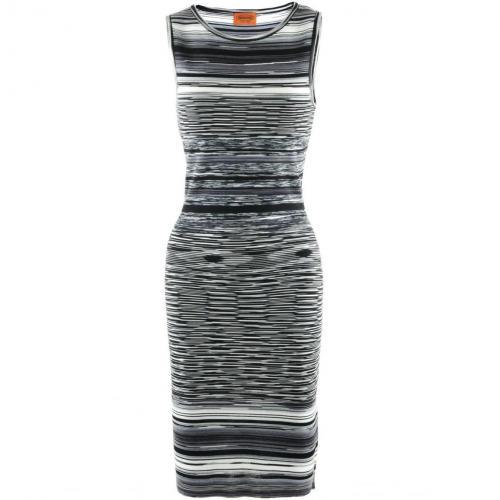 Missoni Black Multi Stripe Dress
