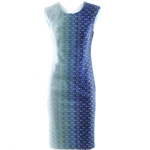 Missoni Blue Azur Glitter Dress