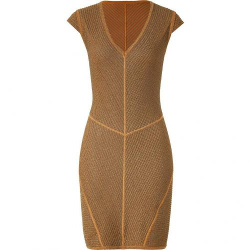 Missoni Caramel/Sepia Lurex Dress