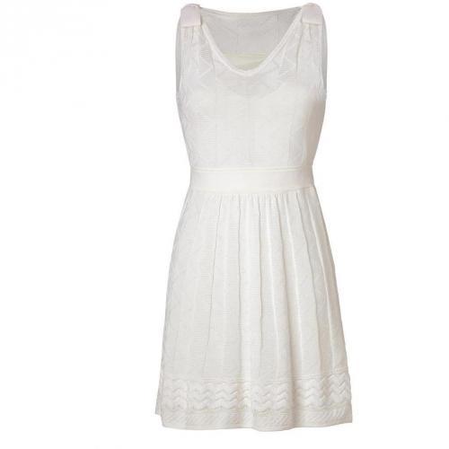 Missoni M Ivory Wool-Blend Knit Dress
