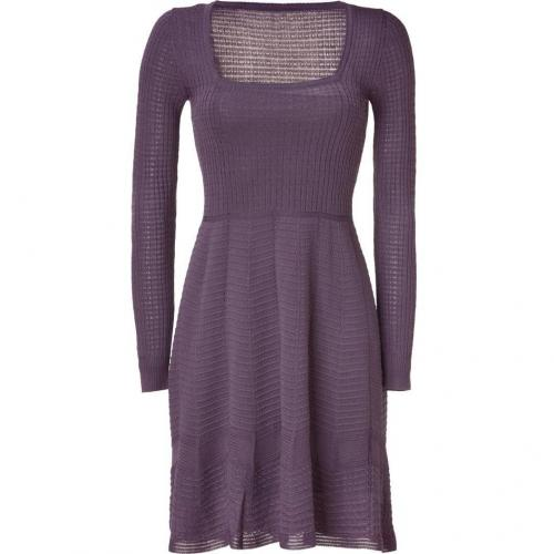 Missoni M Plum Square Neck Knit-Dress