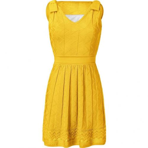 Missoni M Sunshine Wool-Blend Knit Dress
