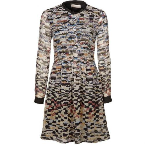 Mw Matthew Williamson Blusenkleid black multi