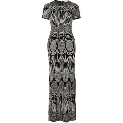 Mw Matthew Williamson Maxikleid black/white