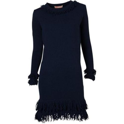 Mw Matthew Williamson Strickkleid navy