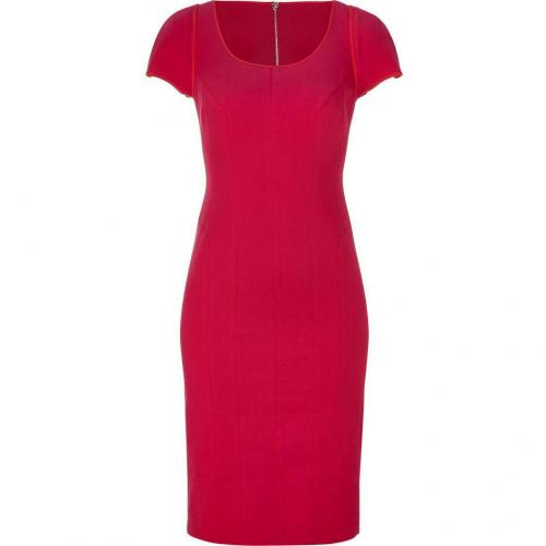 Narciso Rodriguez Deep Peony Sheath Dress