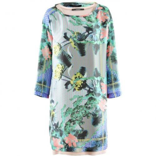 Odeeh Lilac Multi Print Dress
