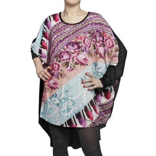 Ott Bedrucktes Maxi Jersey Kleid