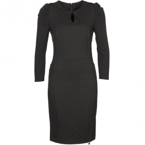 Patrizia Pepe Kleid schwarz mit Ärmeln