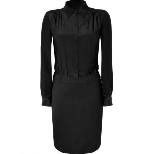 Philosophy di Alberta Ferretti Black Combo Dress
