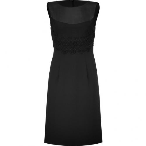 Philosophy di Alberta Ferretti Black Sheat Dress