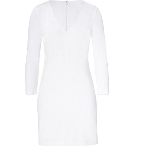 Ralph Lauren Black White Matte Jersey Kelby Dress