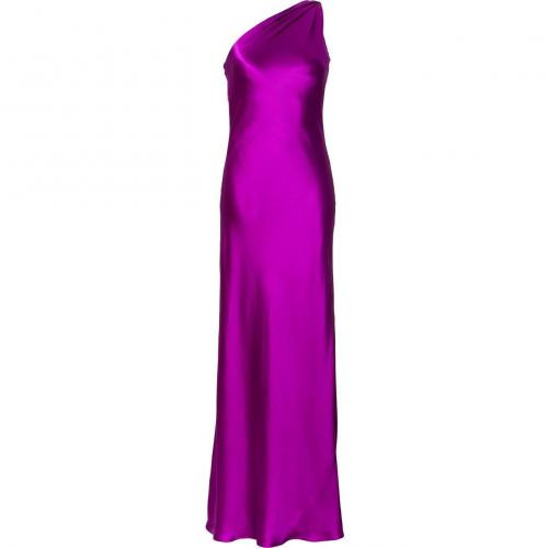 Ralph Lauren Collection Fuchsia Silk Satin Julien Evening Gown