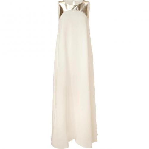 Raoul Off White and Gold Penelope Gown