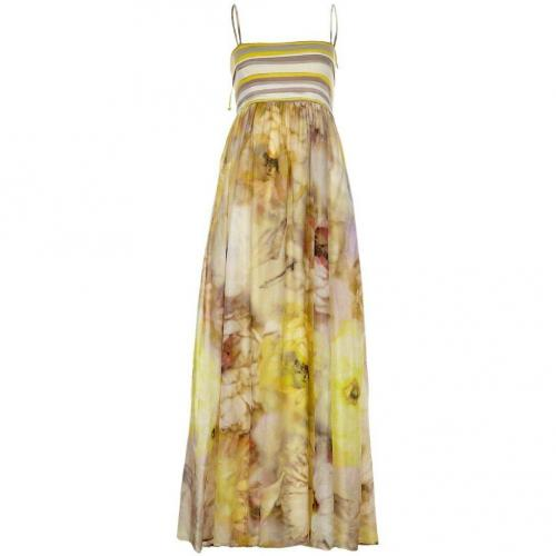 René Lezard Sommerkleid yellow