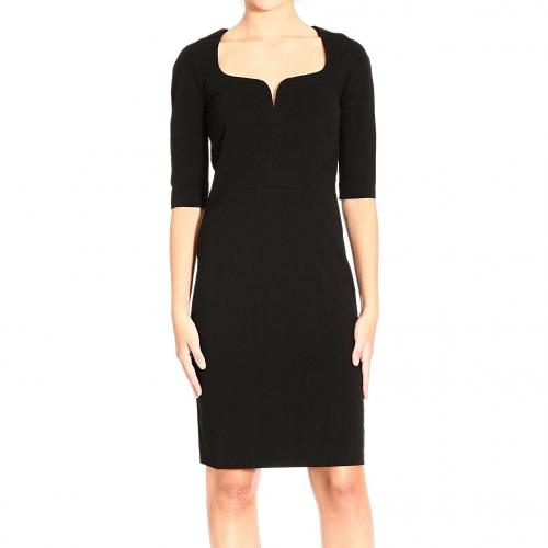 Roberto Cavalli 3/4 sleeve double jersey dress